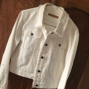 Rebecca Minkoff White Denim Jacket